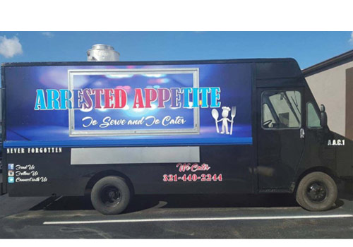 arrested appetited food truck