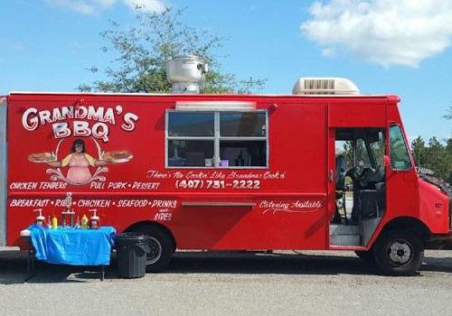 Grandma's BBQ food truck