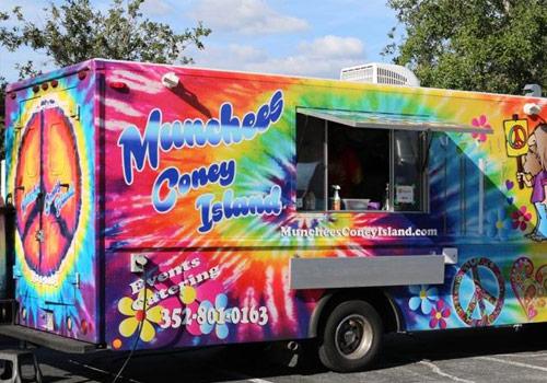Munchees Coney Island Food Truck Menu